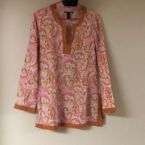 Lucky Brand Paisley Tunic